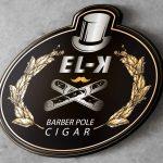 Barber Pole 3D Logo